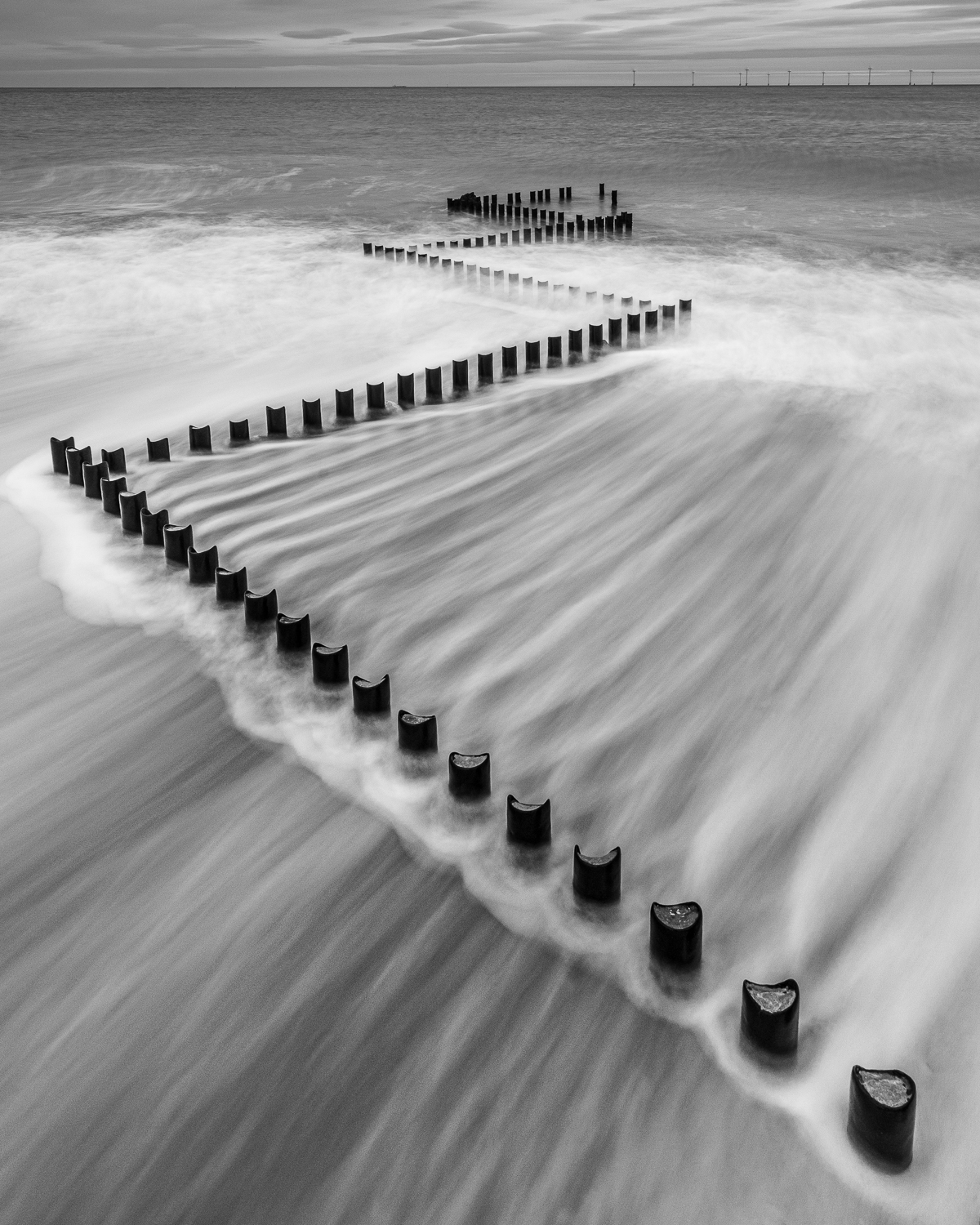 sea defences, caster on sea