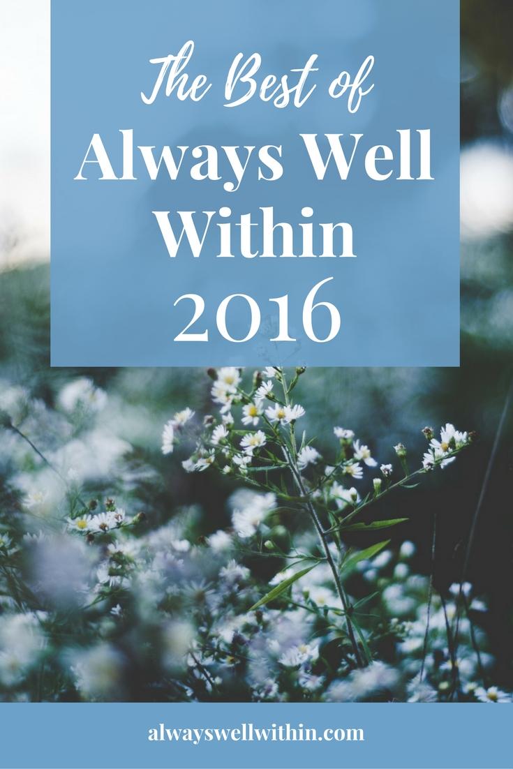 Best Always Well Within post on self-development + spiritual growth.