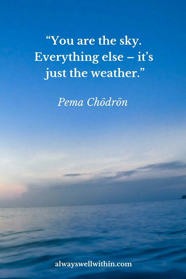 Meditation Quote | Pema Chödrön