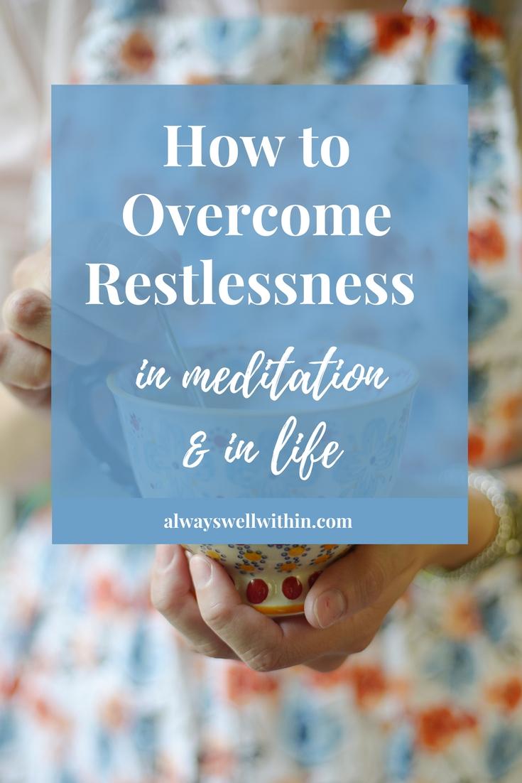Restlessness | Speediness | Meditation