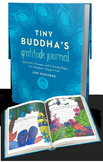The gorgeous Tiny Buddha Gratitude Journal