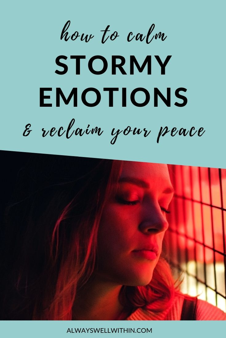 6 simple ways to calm stormy emotions | feelings and emotions | emotional control | understanding emotions #feelingsandemotions #emotionalcontrol #understanding emotions #emotionalhealing