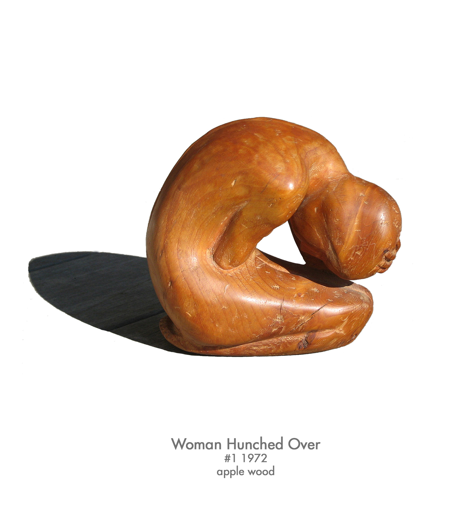 Woman Hunched Over