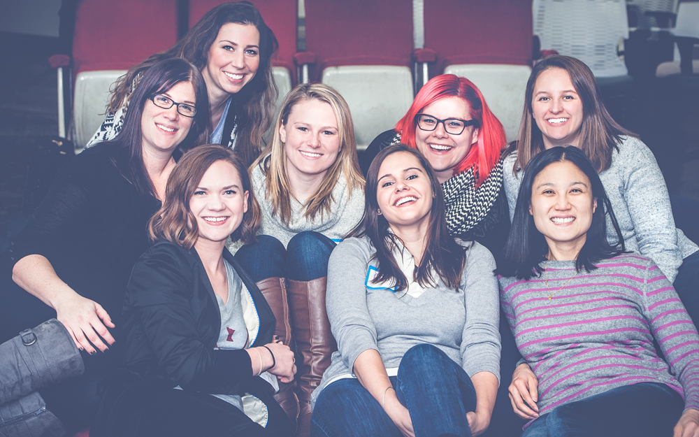 Girl Develop It Minneapolis - Former Leadership Team Member and Instructor. Pictured here at our