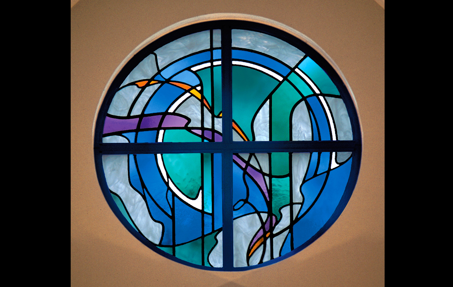 The Evangelical Lutheran Church of the Atonement, Wyomissiong, Pennsylvania. 6' Diameter