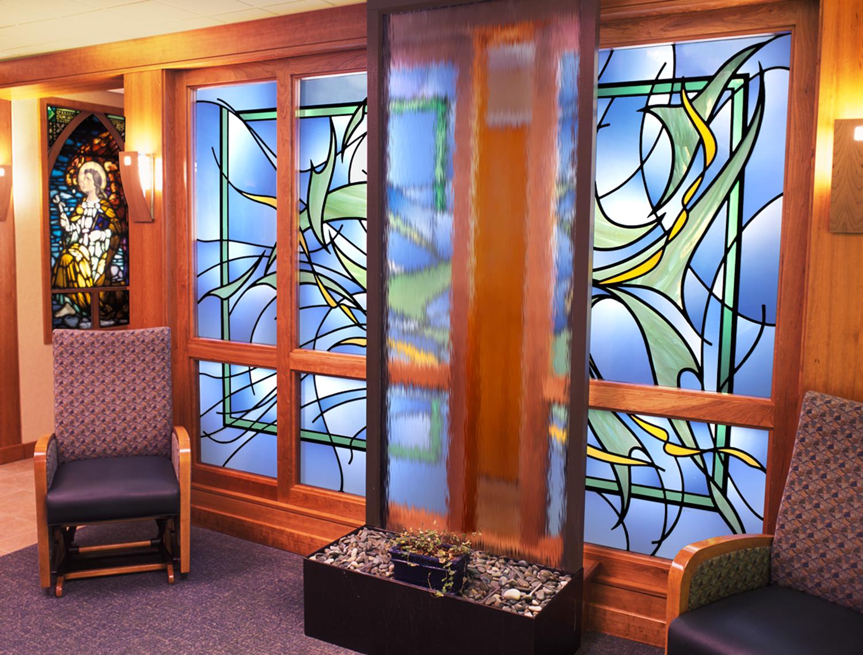Good Samaritan Hospital Waiting Room. 7' x 9'