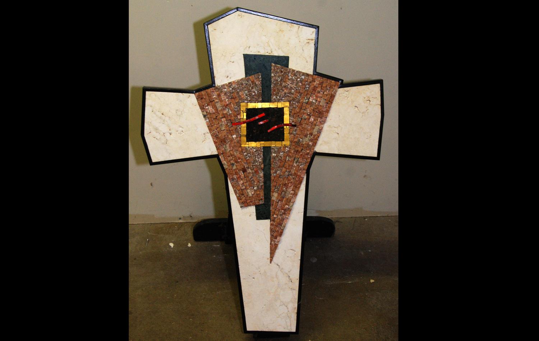 "Processional Cross. 2' x 3' x 2"""