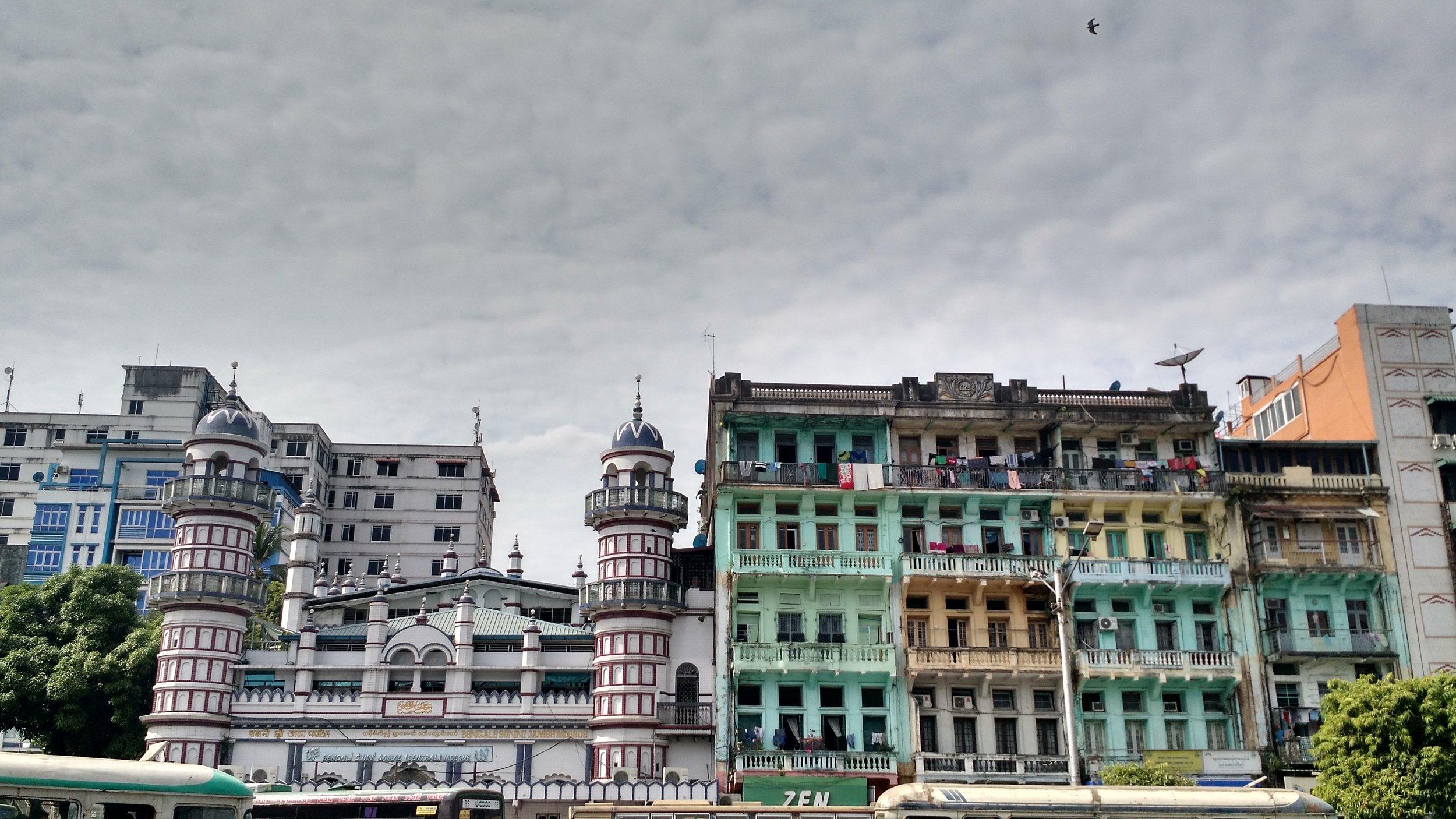 Yangon, January 2017