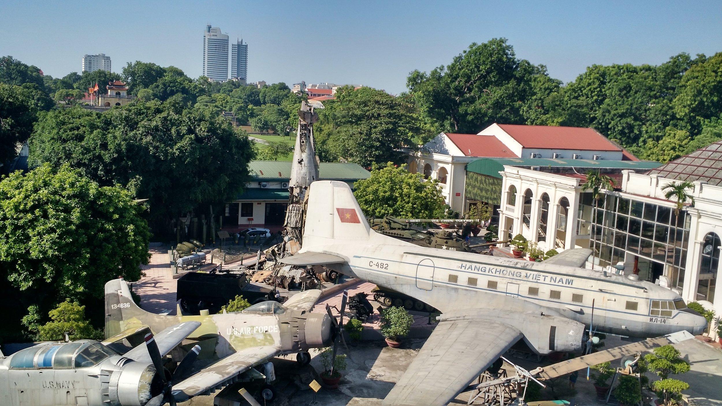 Military History Museum, Hanoi, July 2016