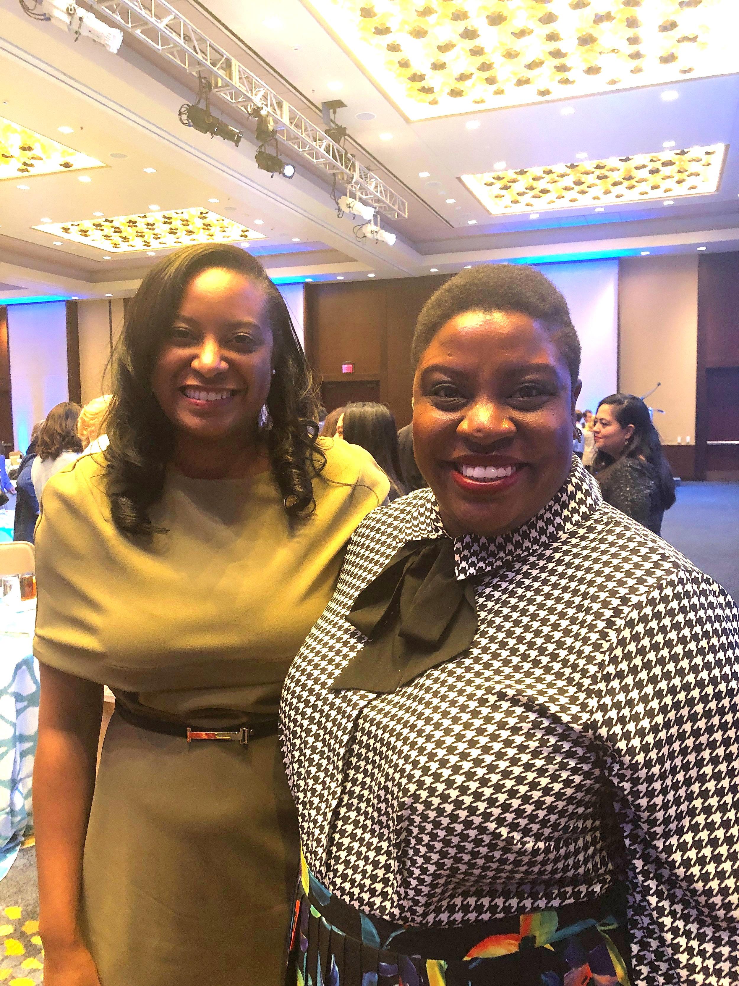 Me with VA State Rep Jennifer Carroll Foy