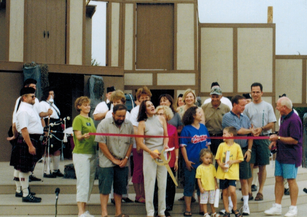 Opening of the 2nd Hafer Park stage in 2002