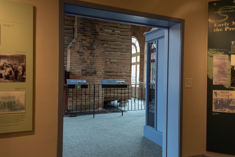 Entrance to the Tailor Shop Exhibit