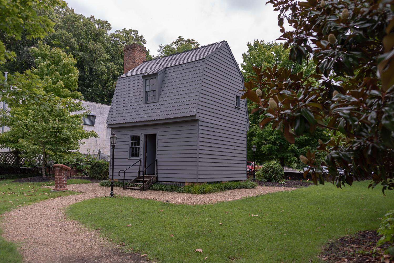 Andrew Johnson Birthplace Replica.