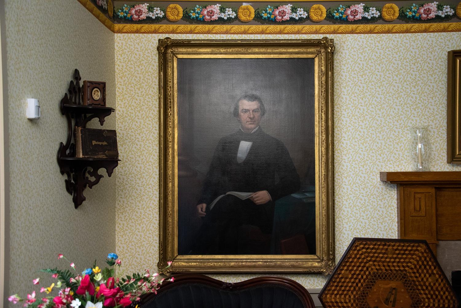 Portrait of Andrew Johnson
