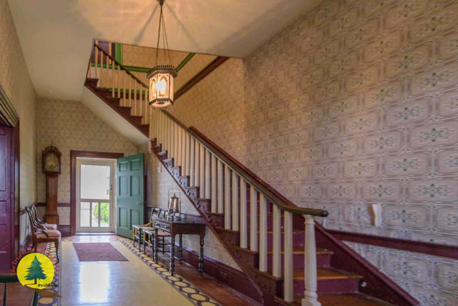Foyer of the Polk Home