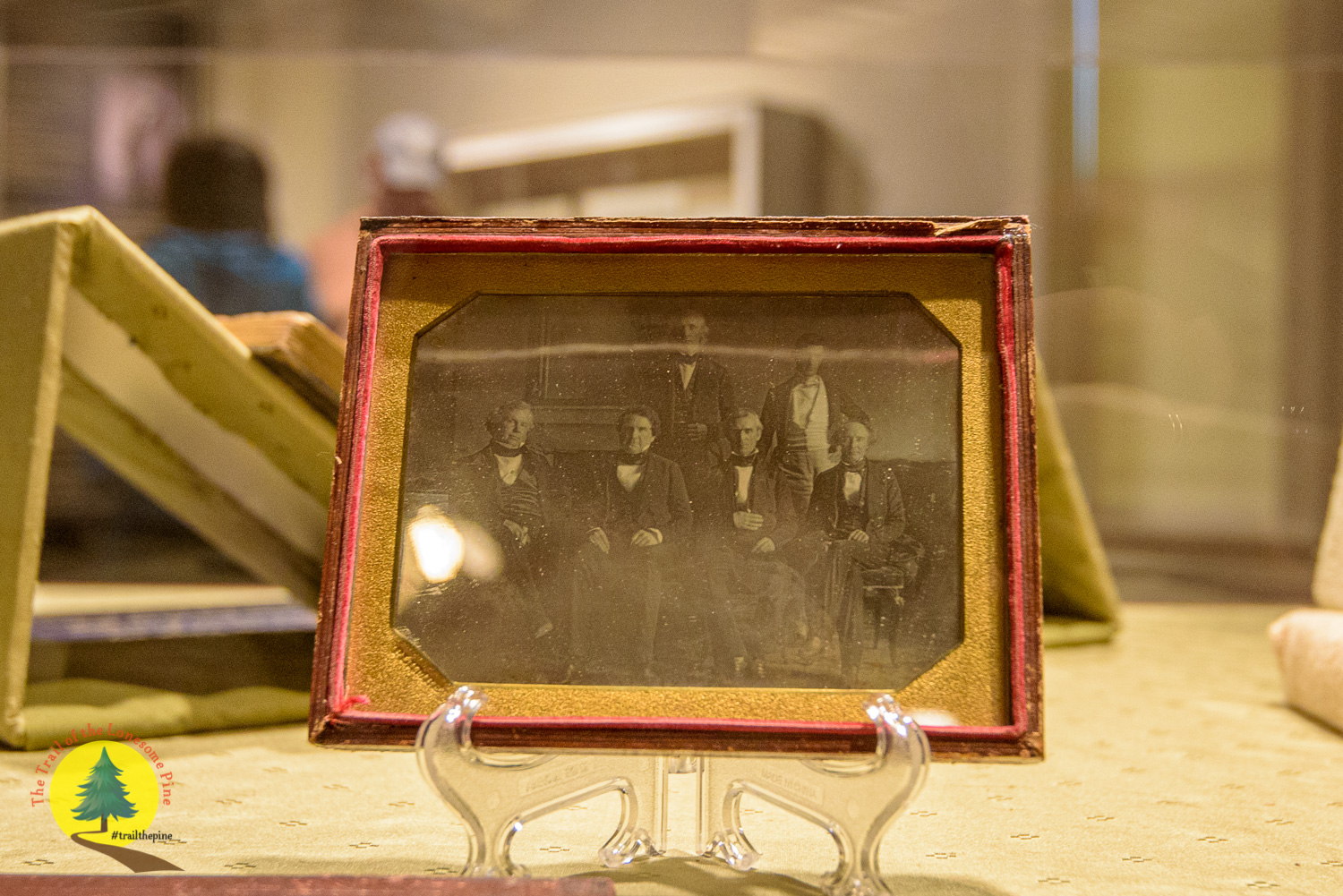 Original daguerreotype of Polk's Cabinet in 1846 - the first ever taken inside the White House