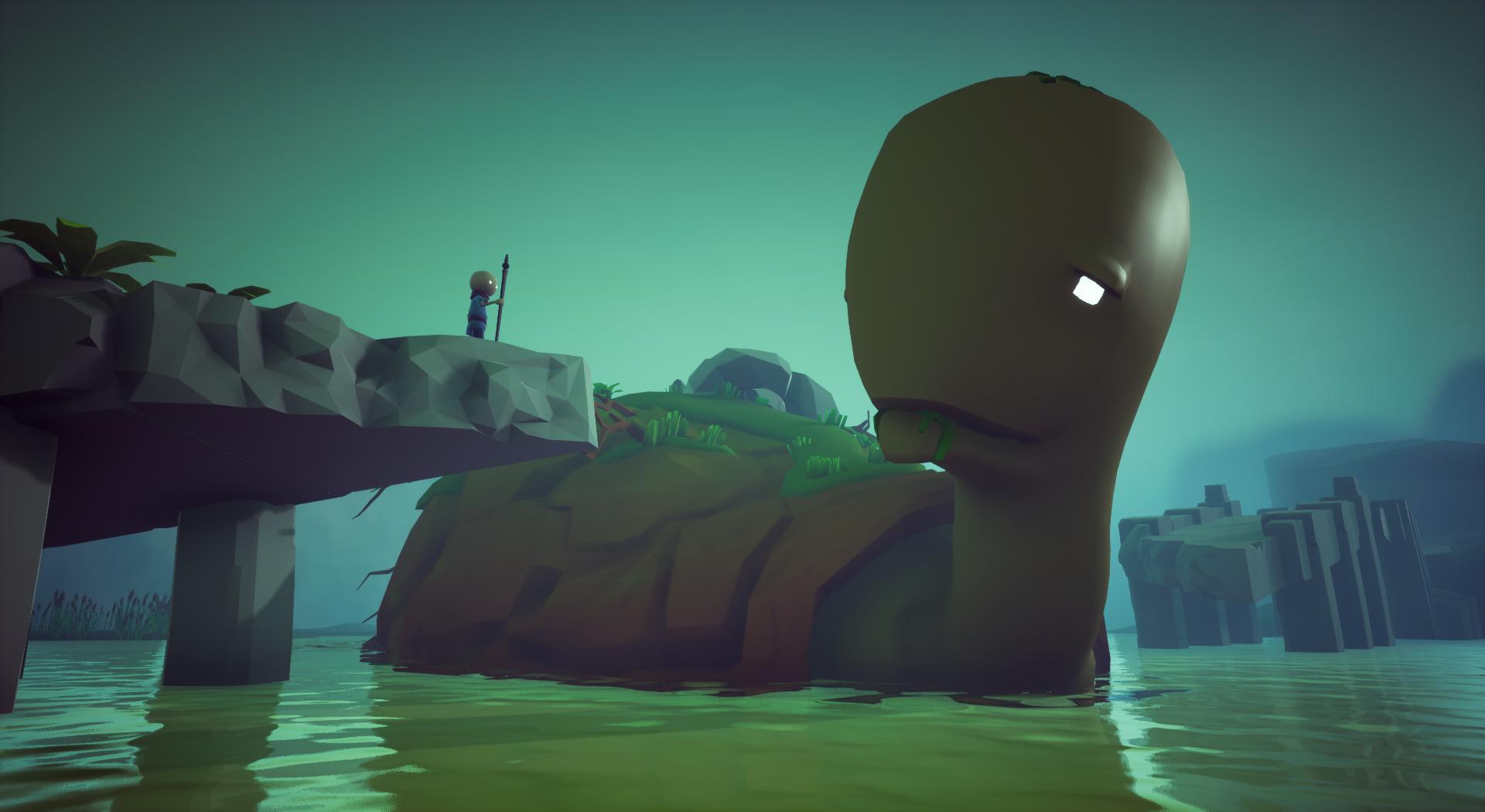 Screenshot, giant creature