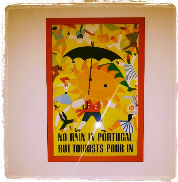 Picture on my wall reminding me of home