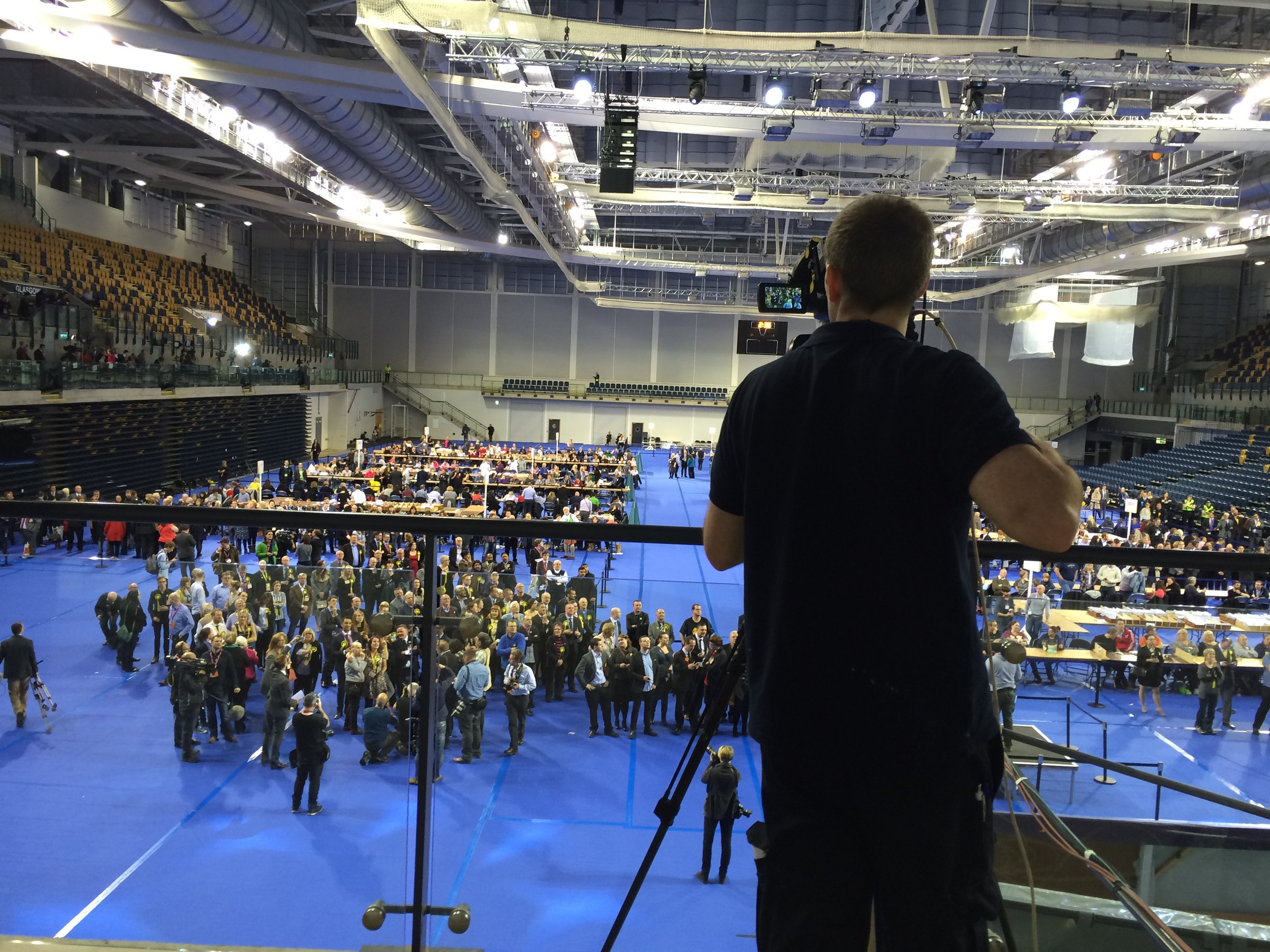 Broadcasting Election coverage in 2015