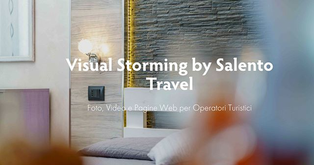 The answer to everyone in need to refresh the brand! Visual Storming by Salento Travel proudly introduces your one-stop-shop for foto, videos, and web pages.  Four new packages featuring promotional launch prices. Chet it out: https://www.salentotravel.com/services/  touroperator #travel #vacation #tour #holiday #turismo #tourism #trip #relax #tourist #traveler #destination #viaggi #beautifuldestinations #travelblogger #salentotravel #videomaker #video #videoshoot #videoclip #VacationInPuglia #puglia365 #inboundtouroperator #WeAreInPuglia #LoveToTravel #DigitalNomads #vacationgoals #travelinspiration #ilovetotravel #BestVacations