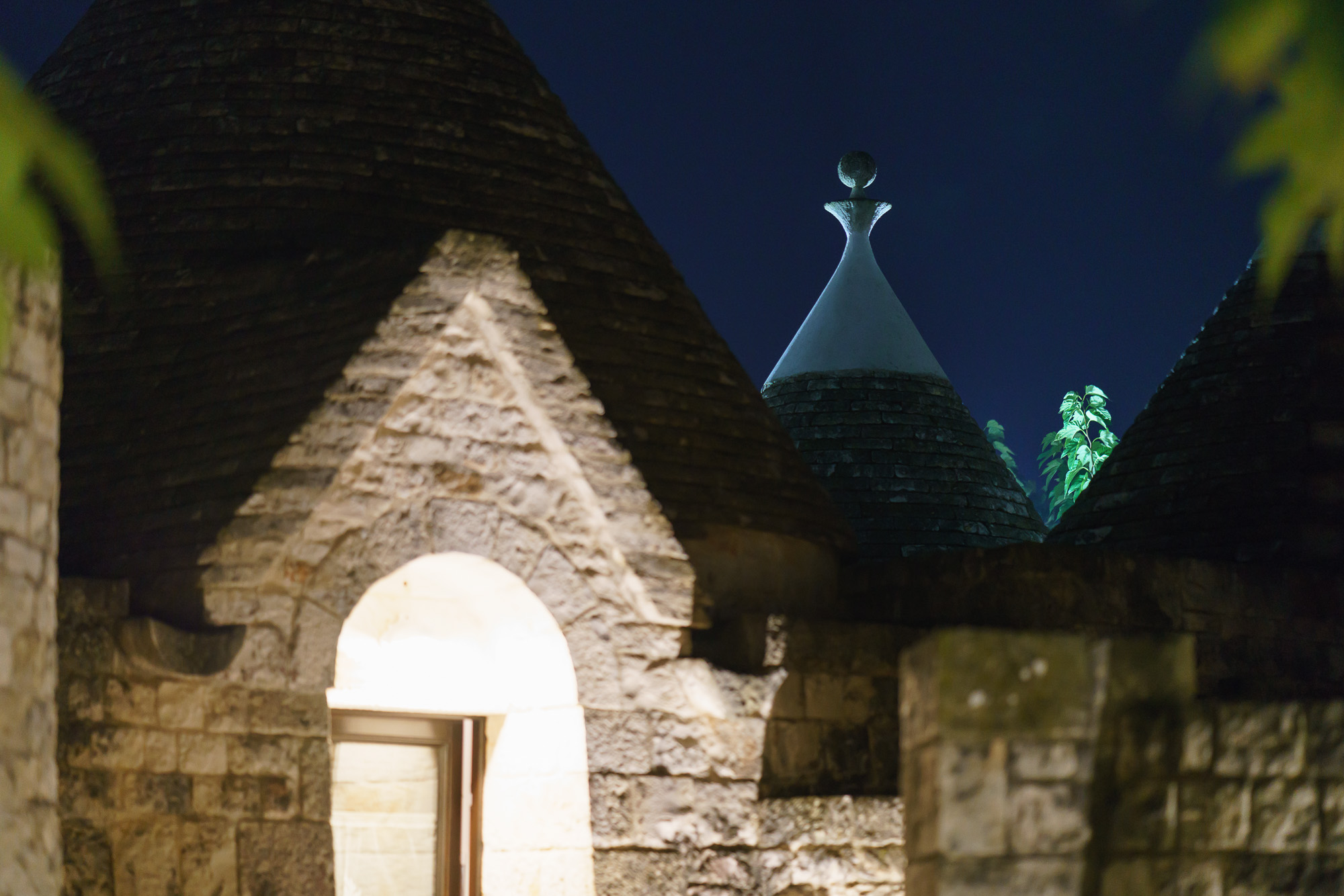 Trulli by night Italy