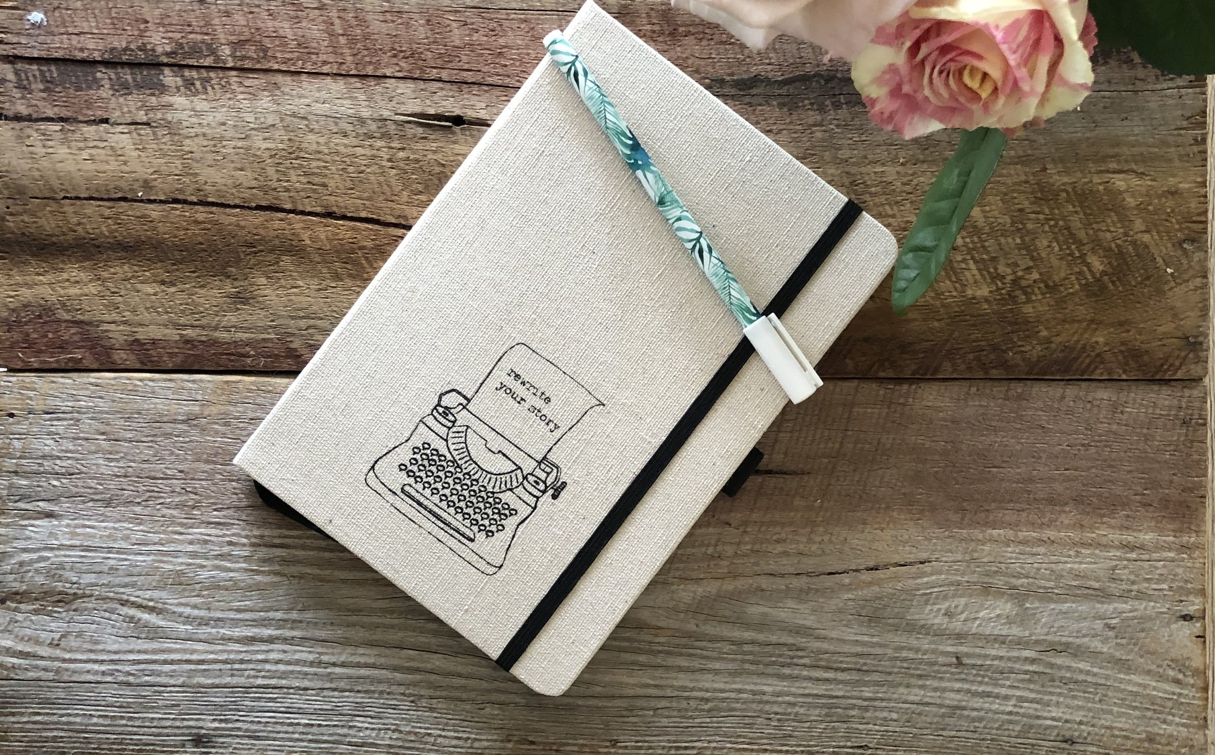 Journal - We live in a never enough culture, where we are hyper connected, and distracted, all of the time. Journaling is a tool that helps us rewire our brain to calm, positive and grateful thoughts. It helps us sleep and is a great way to get clear about what we want in life.
