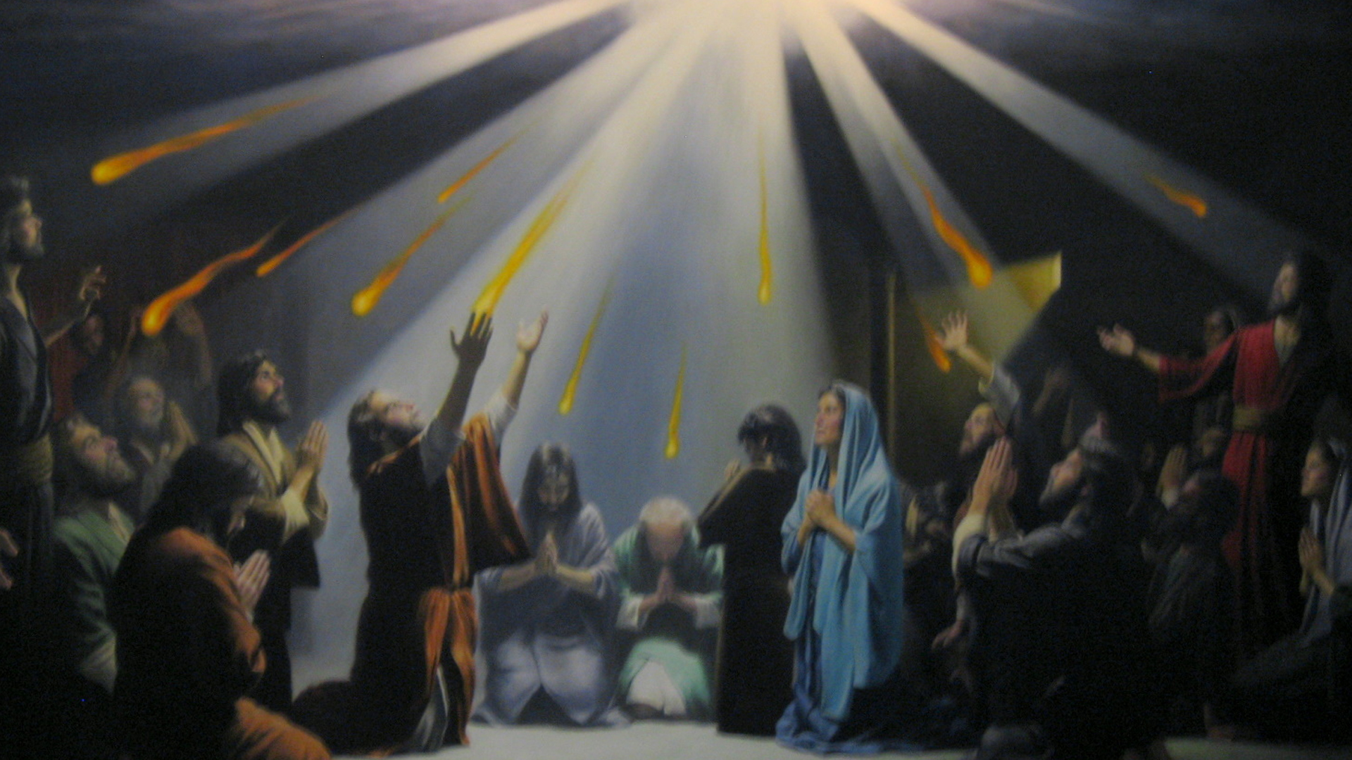 June 9 2019) Sermon for The Day of Pentecost -Acts 2:1-21; Psalm 143;  Genesis 11:1-9; John 14:23-31 You Have Spoken In Tongues — Grace  Evangelical Lutheran Church