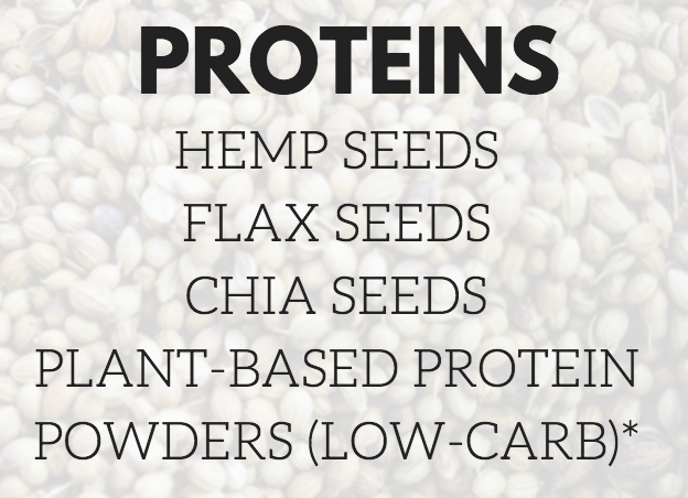 *Low-carb plant-based protein powder suggestions:  1.MRM Veggie Elite Performance Protein (best tasting)  2.Vega Sport Performance Protein (best quality)  3.Garden of Life Raw Organic Protein