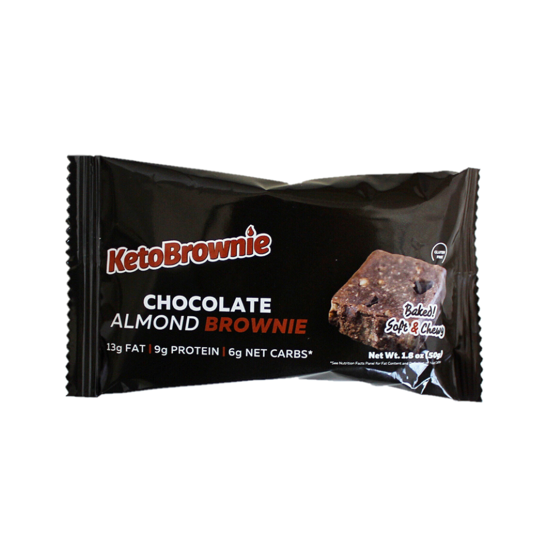"""KetoBrownie  - delicious low carb snack or travel food  Follow   this link   for 15% off (automatically applied at checkout) OR use code """"DOM"""""""