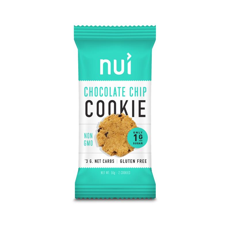 Nui Cookies - low carb/ketogenic cookies