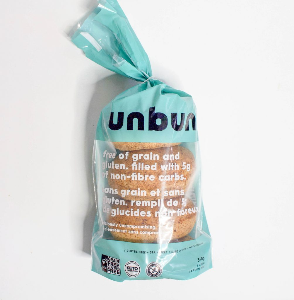 UnBun - Keto-Friendly Buns   Use Code: DOM for a free 4-pack of buns