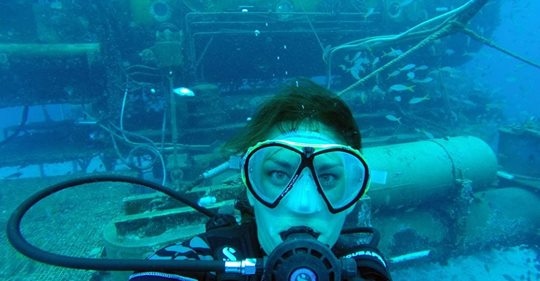 Follow Dr. Csilla Ari D`Agostino's  National Geographic expedition  to get updates on our NASA NEEMO mission!