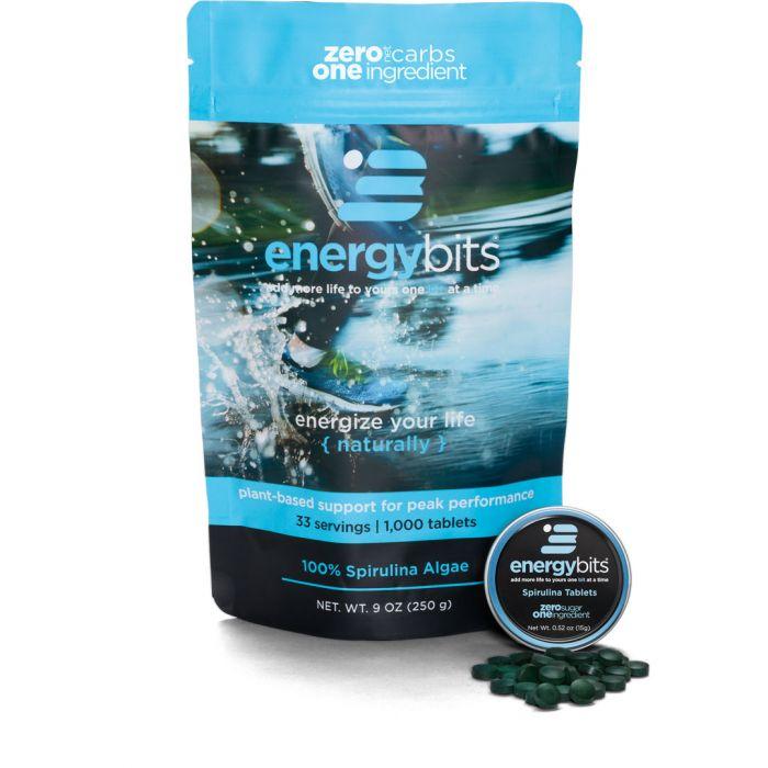 Spirulina Tablets   Discount code: KT (20% off)