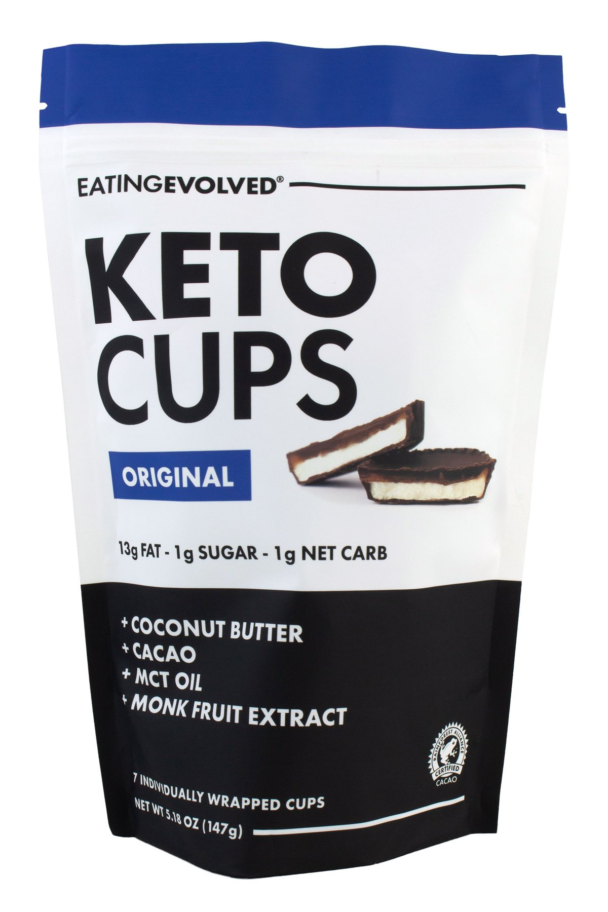 "Eating Evolved Chocolate Keto Cups   Use Code: ""DOM"" for a free gift"