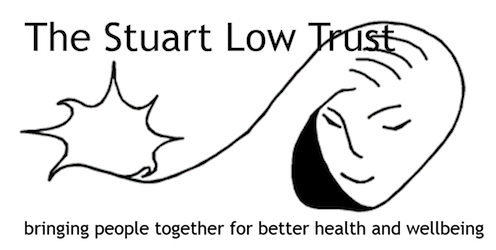 Stuart Low Trust (SLT) is a health promotion charity based in Islington, north London working to ensure that local people, especially those experiencing social isolation or mental distress, have access to the support they need for better health and wellbeing.  The Trust was founded in memory of Stuart Low, a young Islington man with a diagnosis of schizophrenia who took his own life after failing to find the support he needed to cope and aims to counter the downward spiral of mental illness and social isolation by providing a welcoming place of support and community in a non-judgemental space.