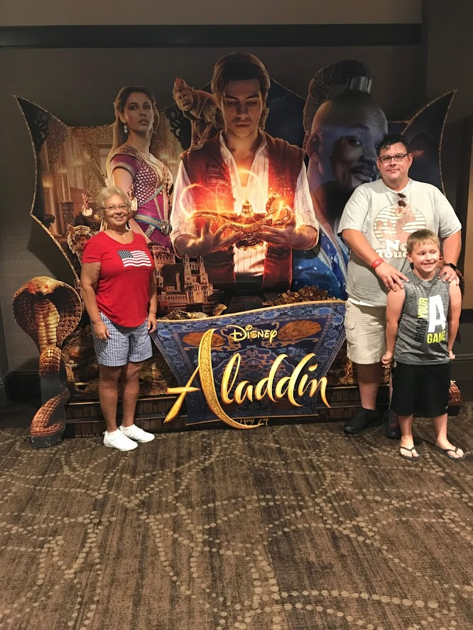 Aladdin at AMC Disney Springs