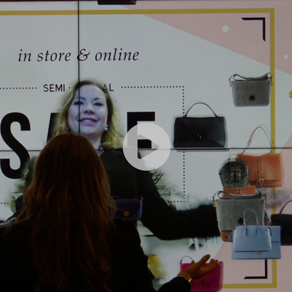 Attract Floating Objects Module (Augmented Reality Mode) - This module attracts floating branded objects to the spectators, who see themselves on the screen in an augmented reality mode. Attract is a fun module for entertainment and advertising. The scenery for a world, full of surprises and brandable objects is easily created.