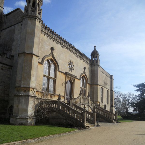 Lacock Abbey where Talbot took his first photographic images.