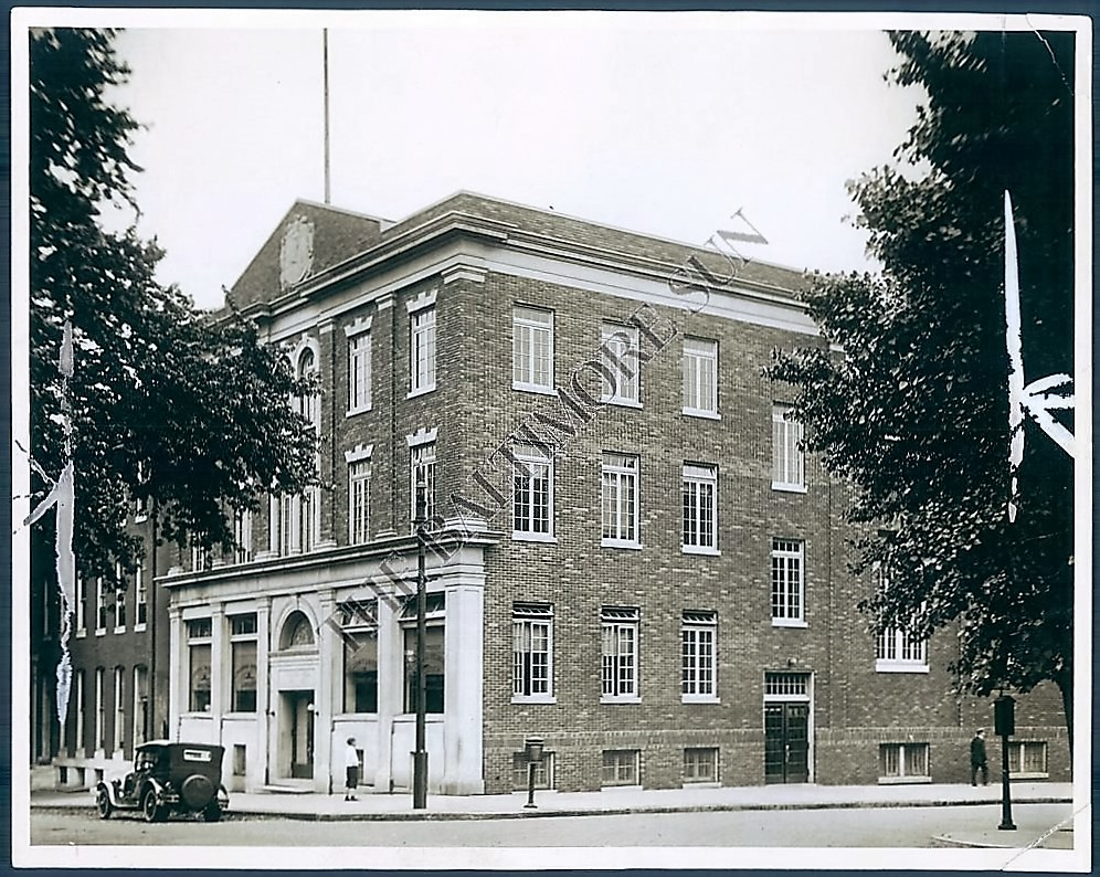Baltimore Lithuanian Hall circa 1924