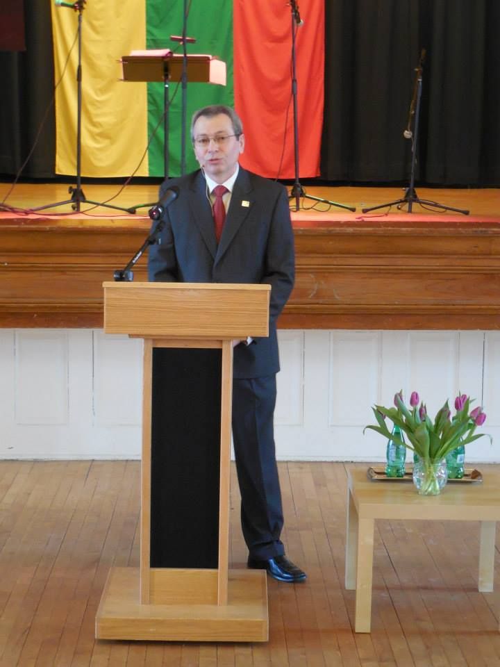 Vice President Gintaras Bujanauskas