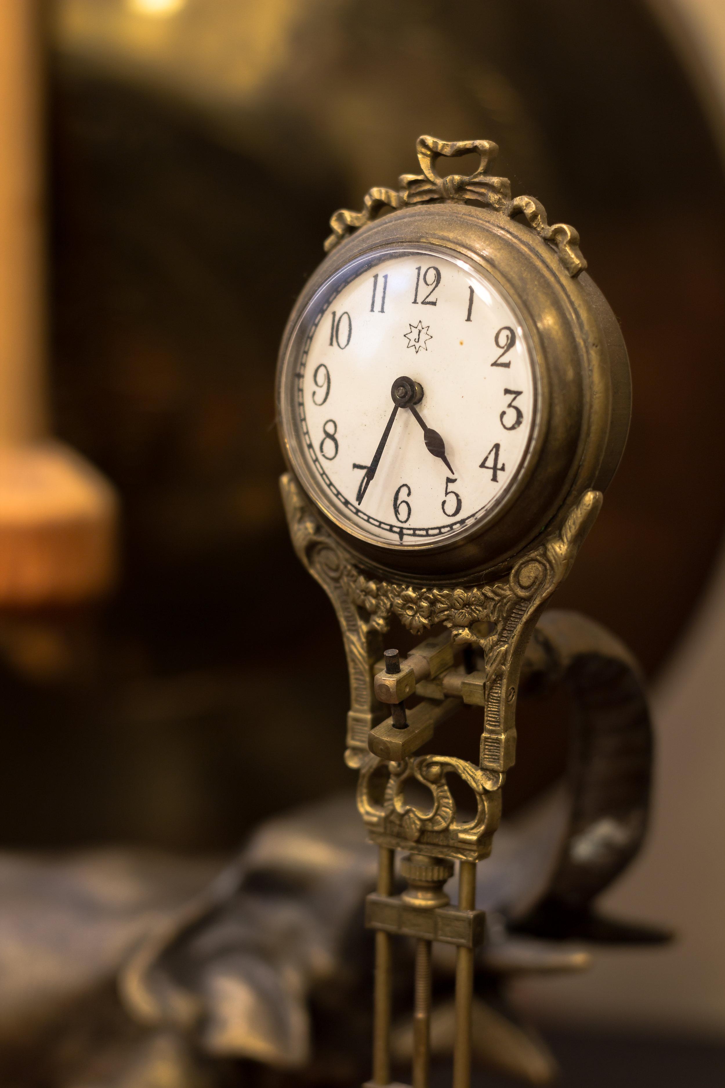 A Clock in Bob's Office