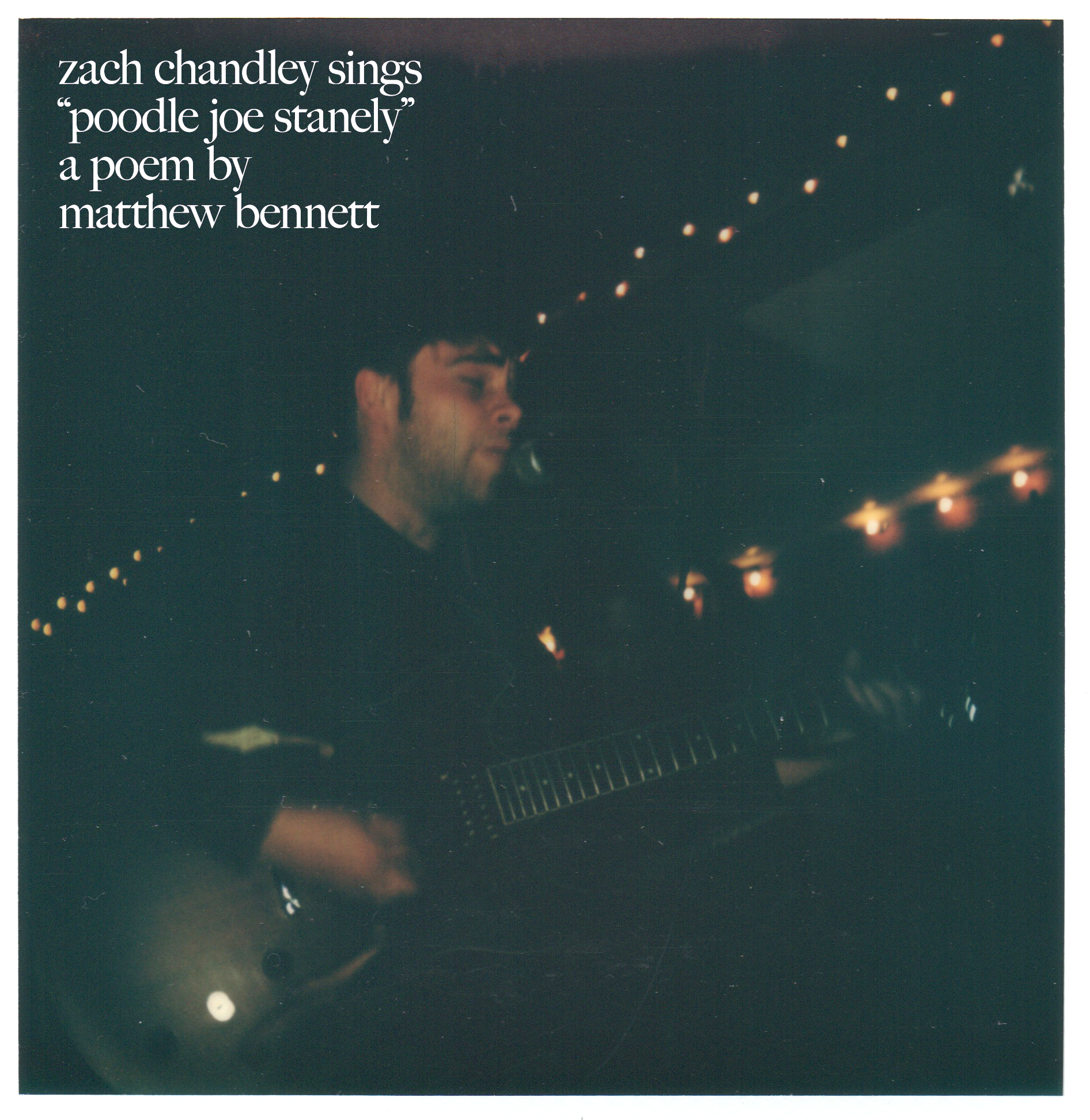 "Zach Chandley (Us,If) sings ""Poodle Joe Stanely"" by Matthew Bennett - click through to listen & download"