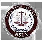 ASLA 5 Time Member
