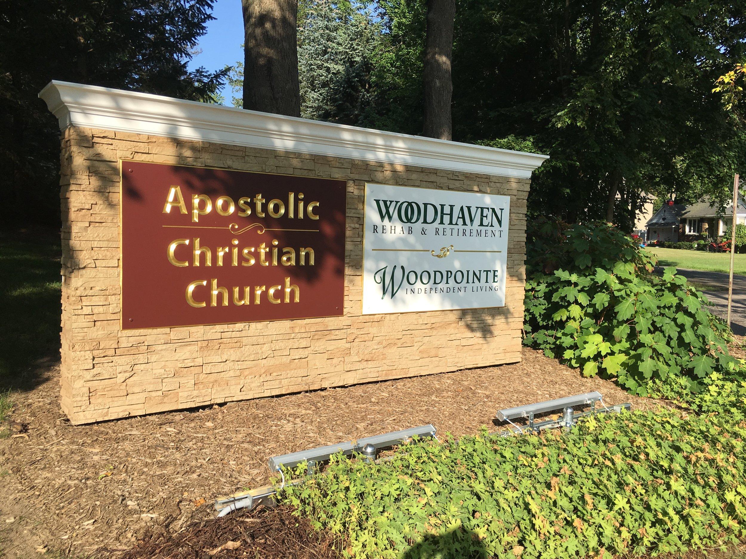 Woodhaven Main Drive Sign 5.JPG