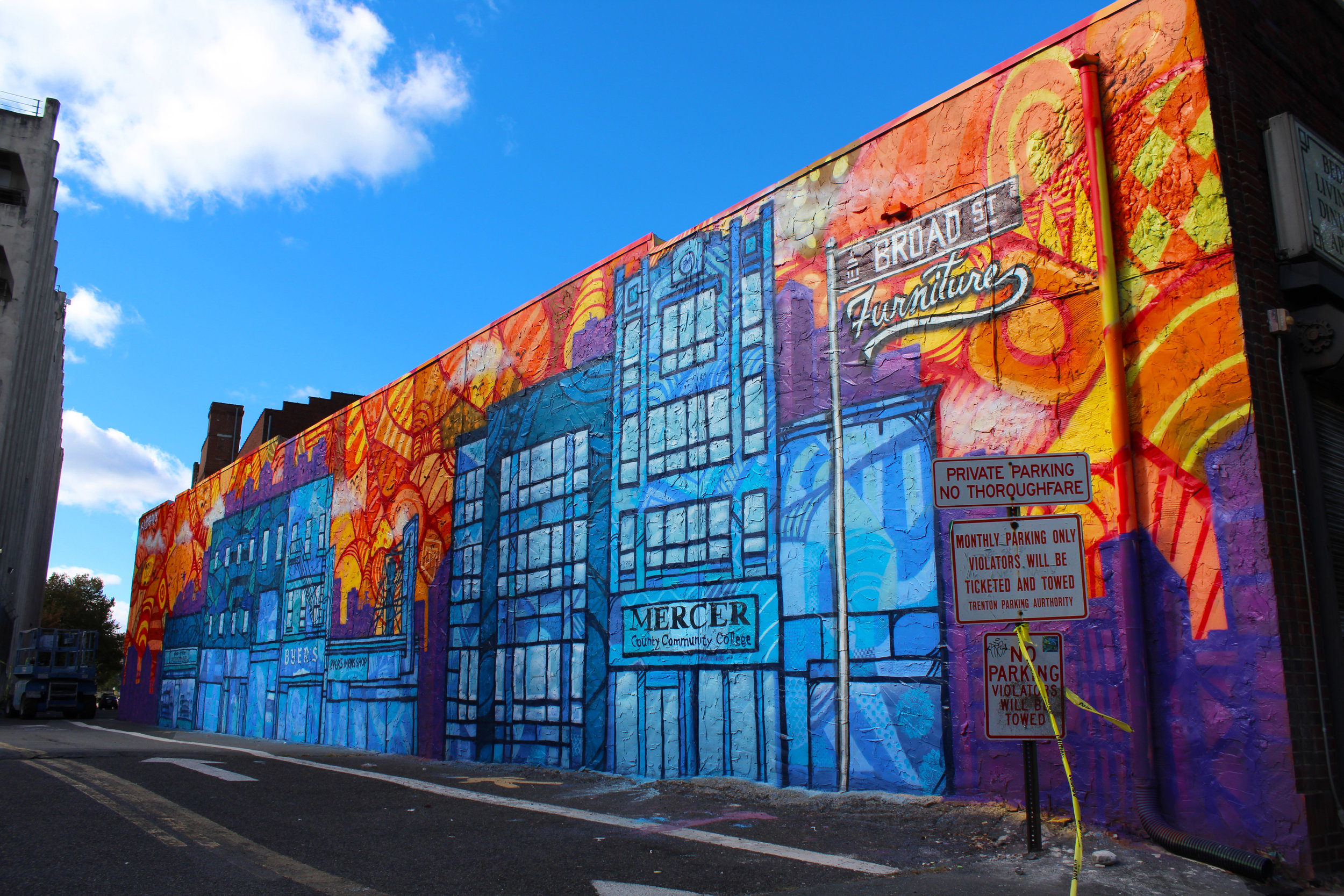 BEAUTIFUL BROAD STREET MURAL PROJECT -