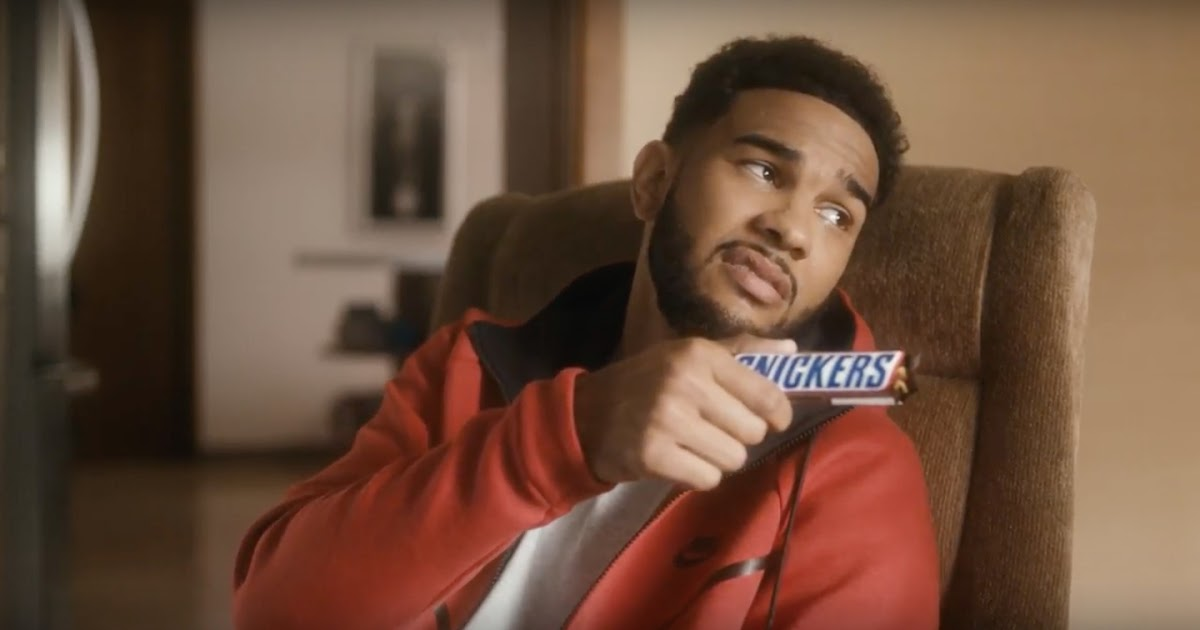 'Hunger Vision' Snickers TV sport featuring former Toronto Raptors player Cory Joseph. (2017)