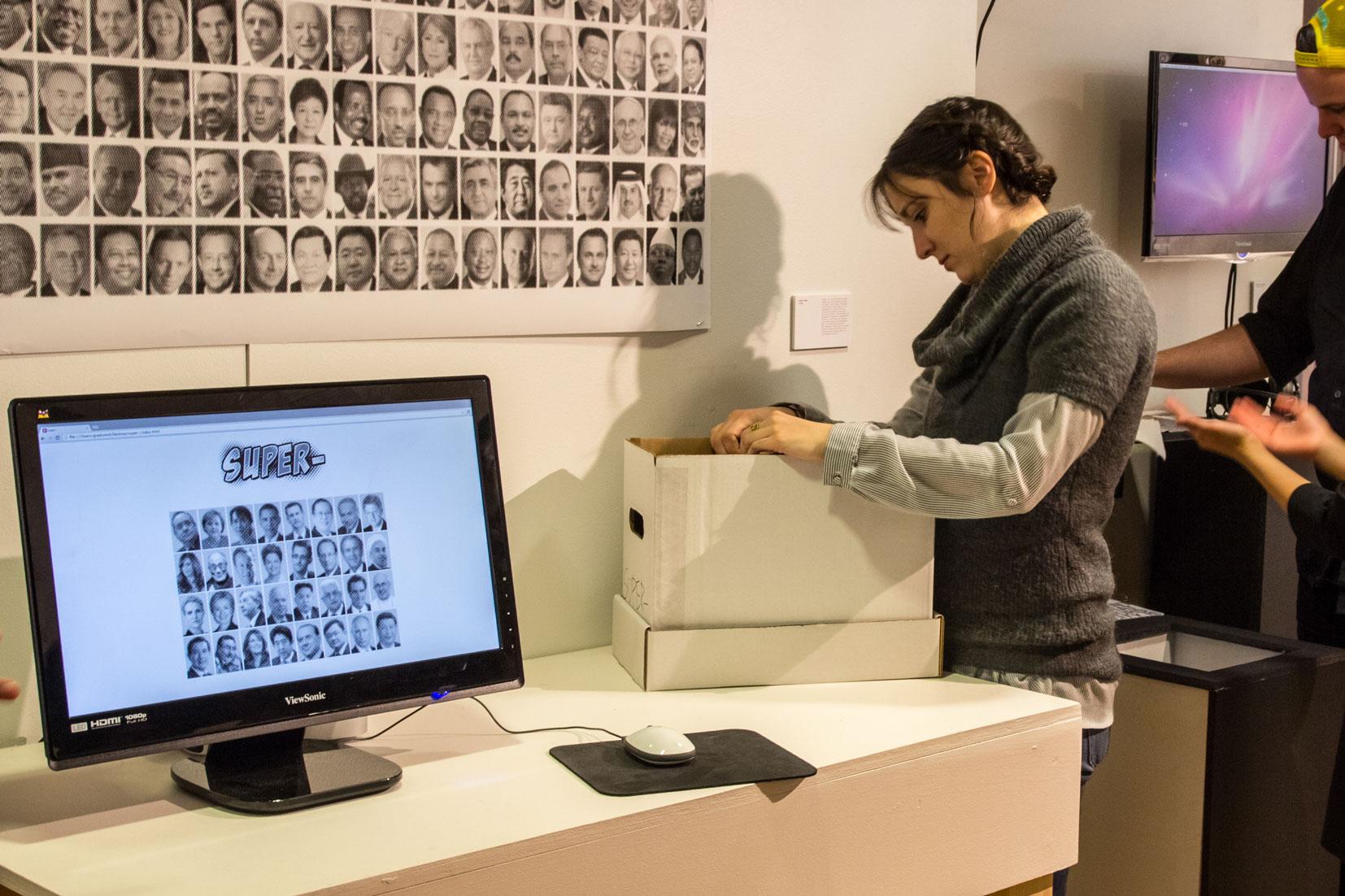 """_ology"" Exhibition, Dec 4th 2015 Pratt Institute Manhattan Campus Gallery"