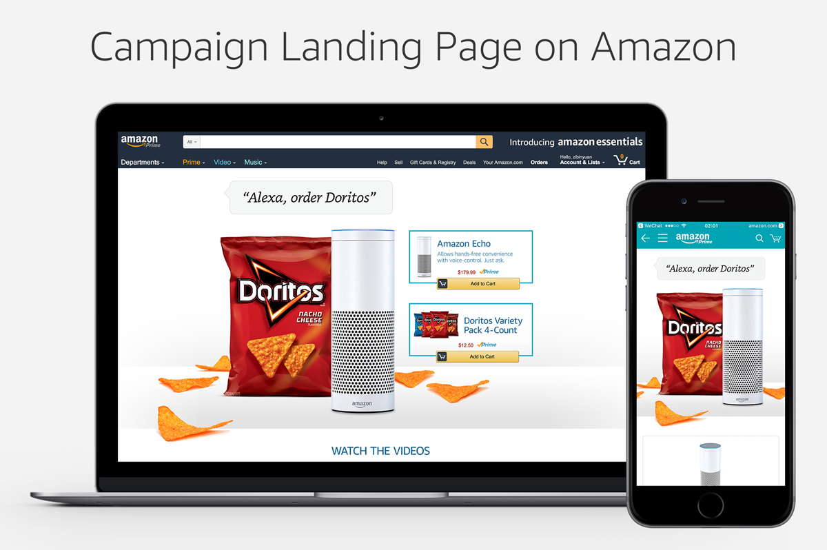 Custom Campaign Landing Page Experience, Digital, Dimensions Veriable