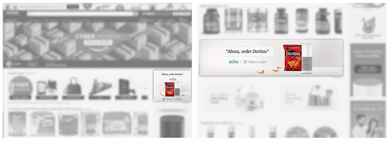 Amazon Desktop Homepage Takeover, Digital, 300px x 250 px/1940px x 500px