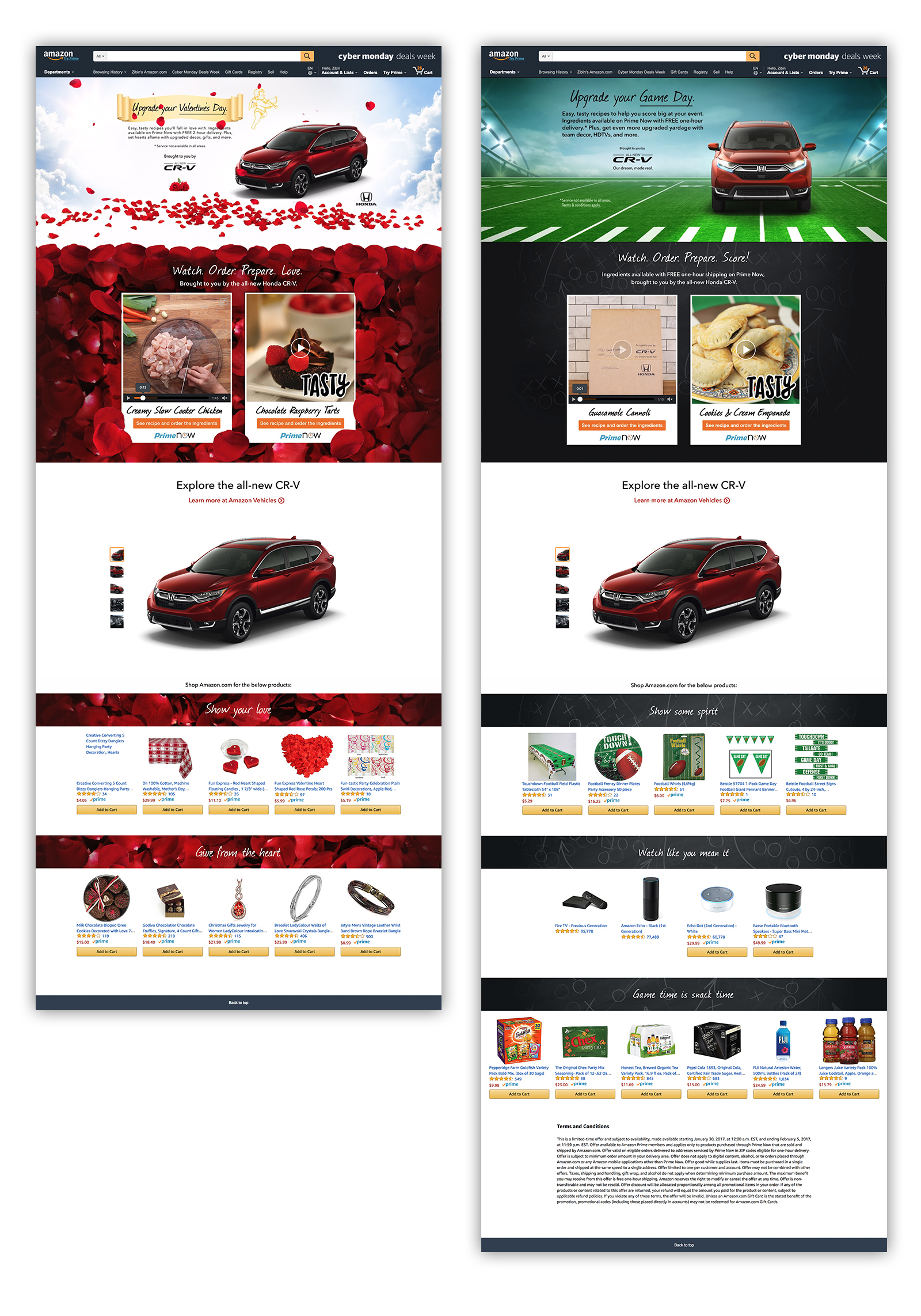 Amazon Custom Campaign Landing Page Experience Full Preview